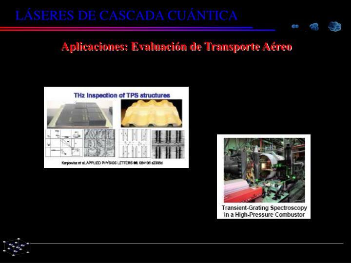 Aplicaciones: Evaluación de Transporte Aéreo