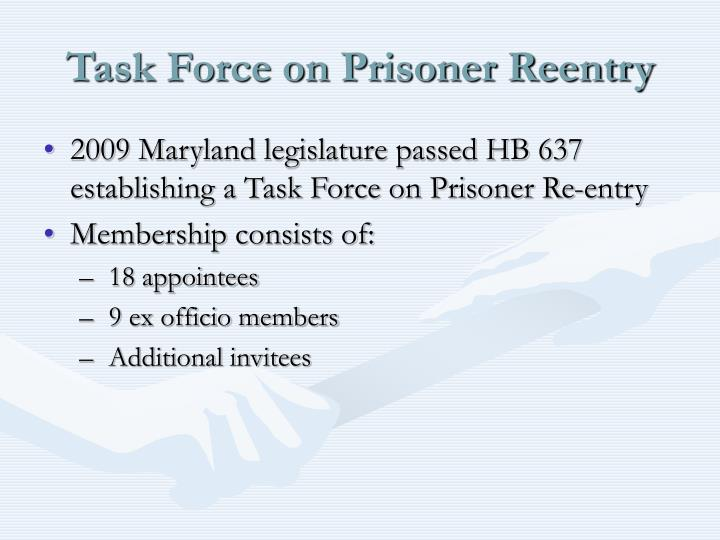 Task Force on Prisoner Reentry