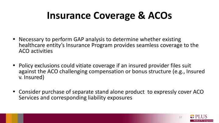 Insurance Coverage & ACOs