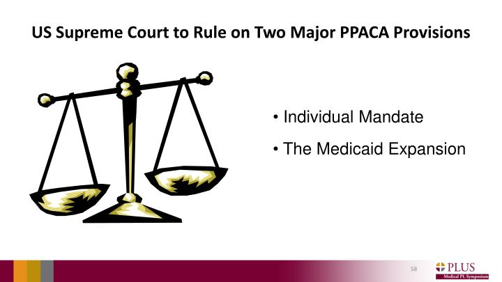 US Supreme Court to Rule on Two Major PPACA Provisions