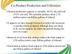 co product production and utilization