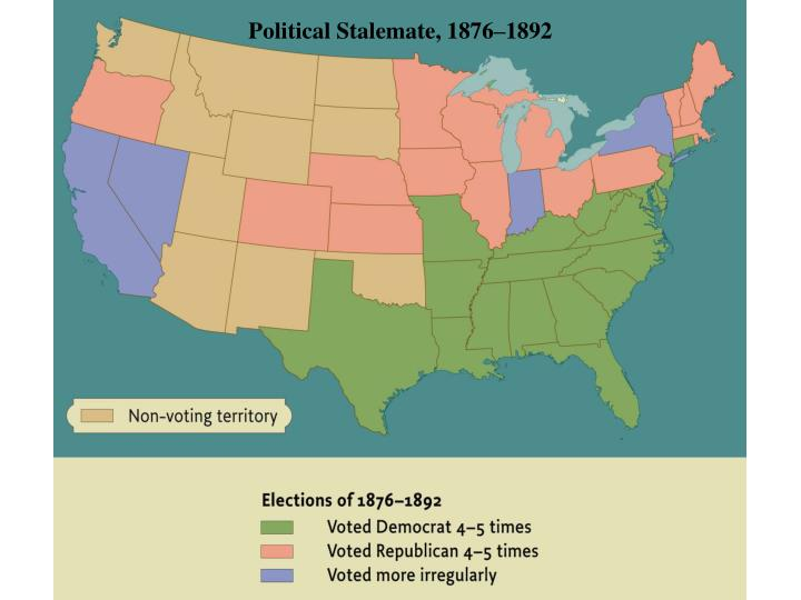 Political Stalemate, 1876–1892