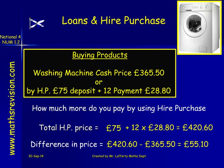 Loans & Hire Purchase