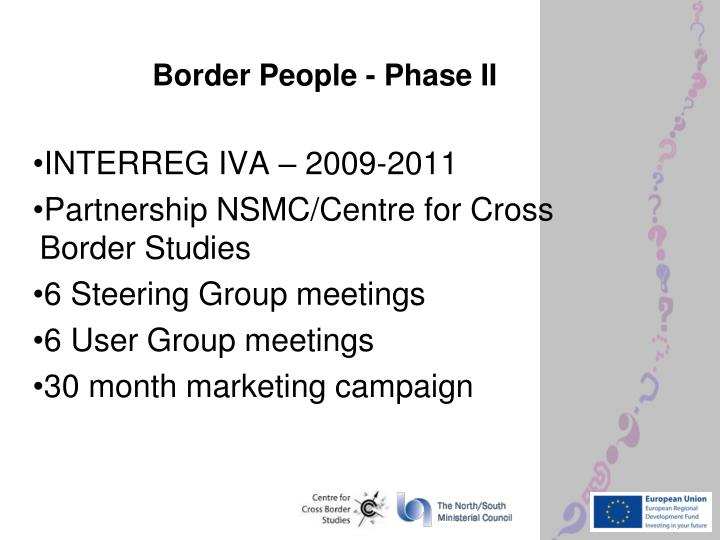 Border People - Phase II
