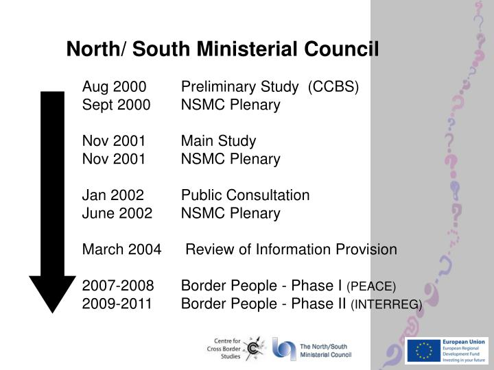 North south ministerial council