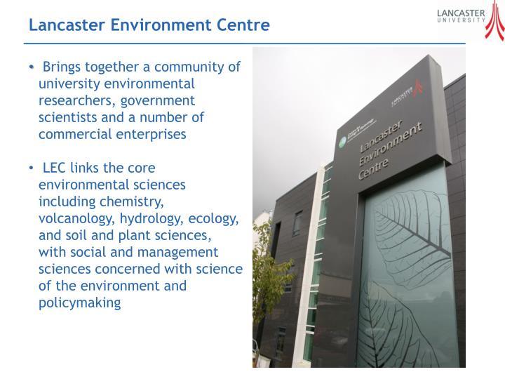 Lancaster Environment Centre