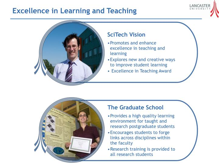 Excellence in Learning and Teaching