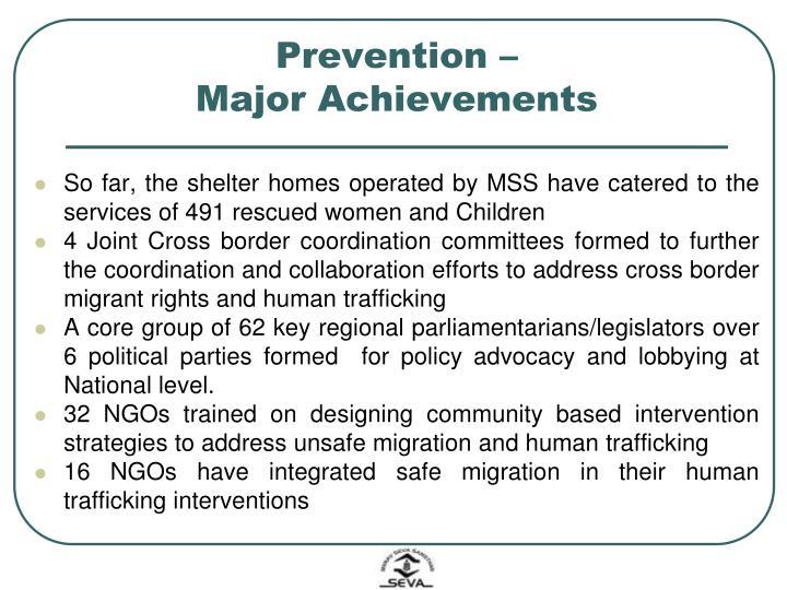 Prevention –