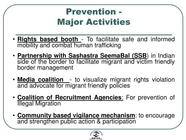 Prevention -