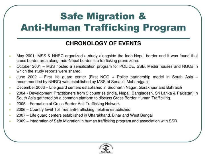 Safe Migration &