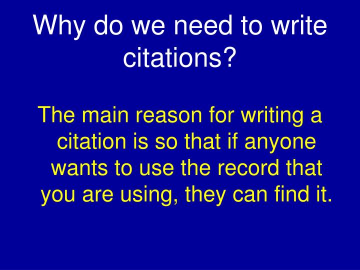 Write my citation writing