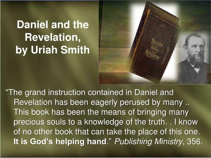 Daniel and the Revelation,