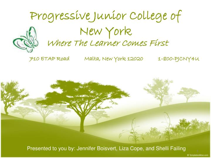 Progressive junior college of new york