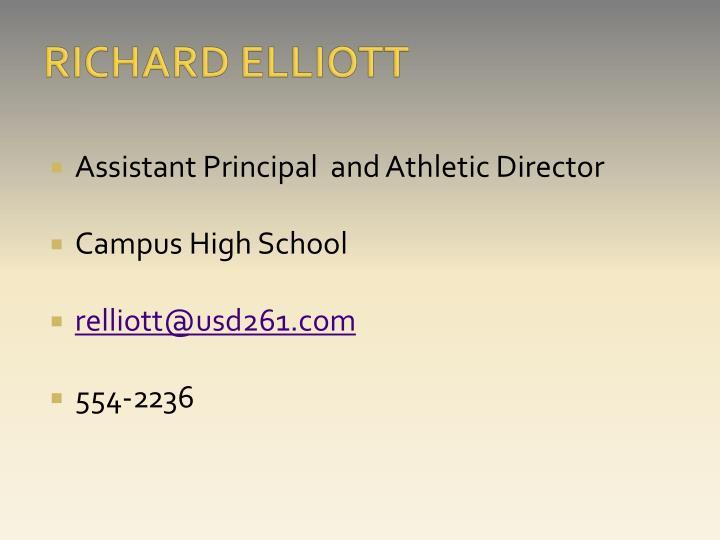 RICHARD ELLIOTT