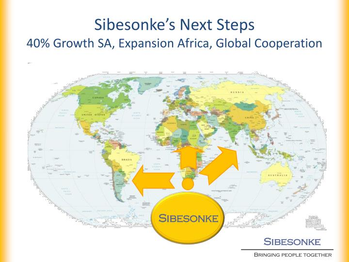 Sibesonke's Next Steps
