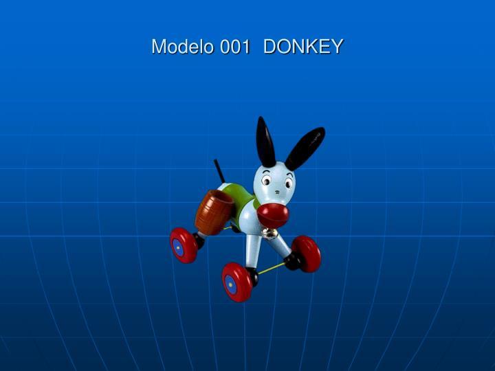 Modelo 001  DONKEY