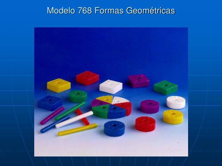 Modelo 768 Formas Geométricas