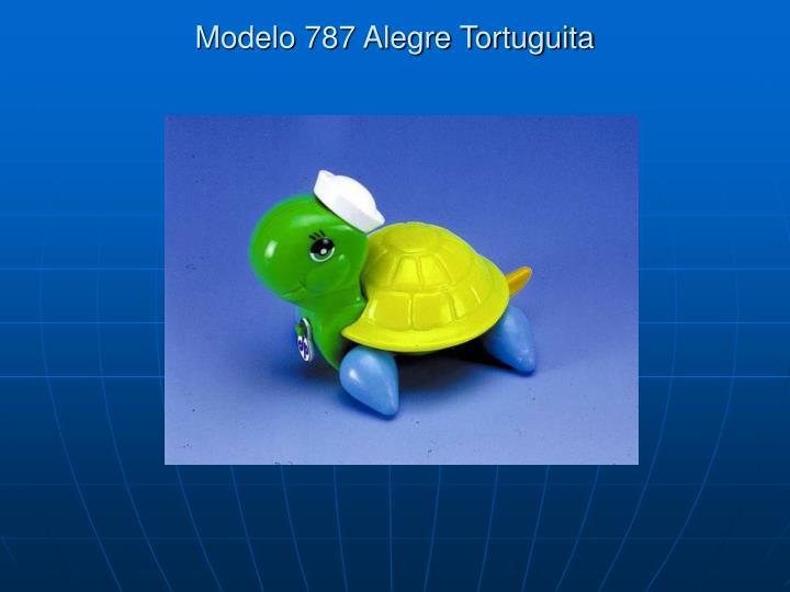 Modelo 787 Alegre Tortuguita