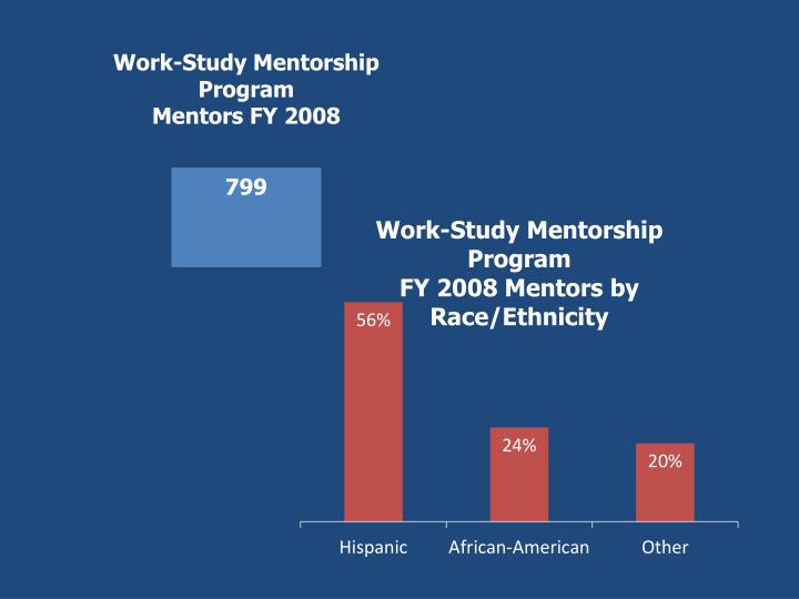 Work study mentorship program