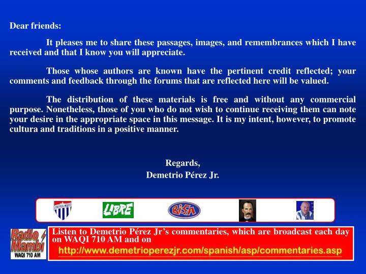 Listen to Demetrio P