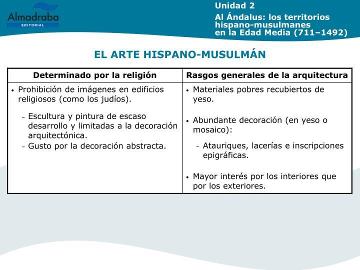 EL ARTE HISPANO-MUSULMÁN