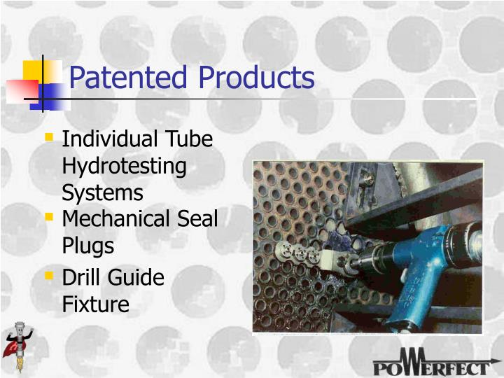 Patented Products
