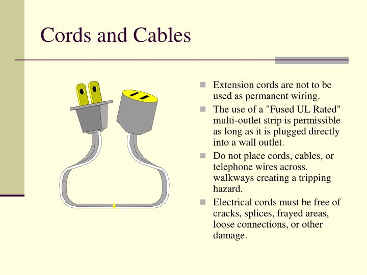 Cords and Cables