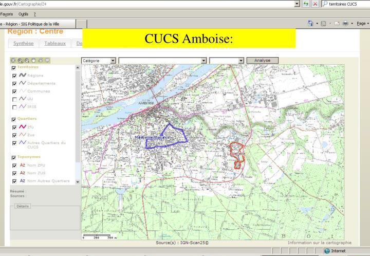 CUCS Amboise: