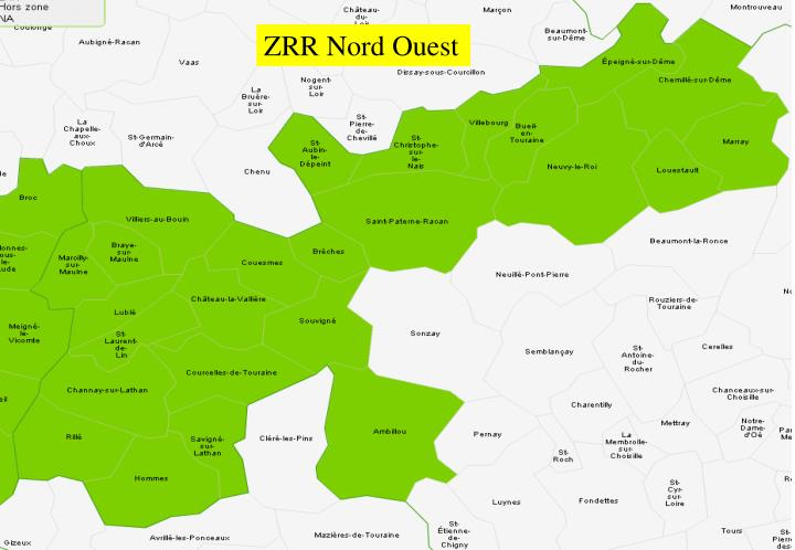 ZRR Nord Ouest