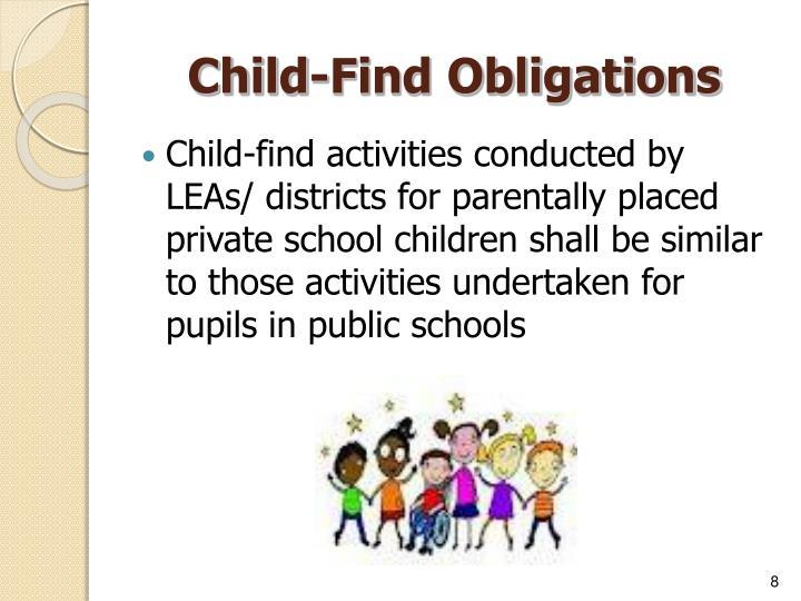 Child-Find Obligations