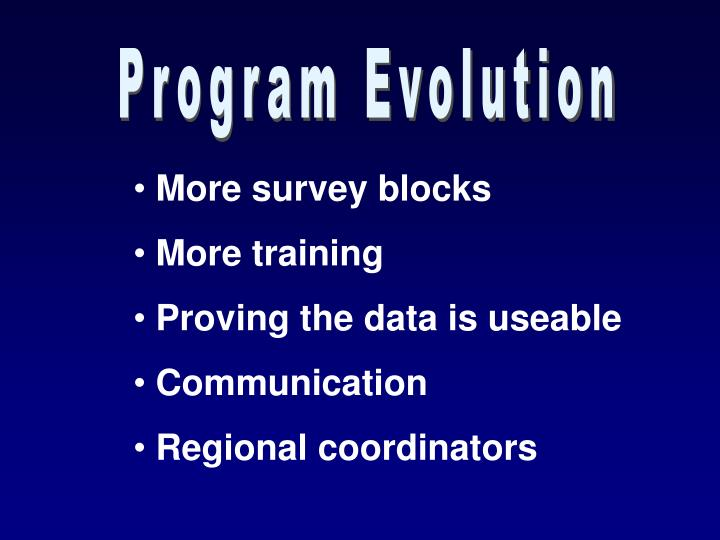 Program Evolution