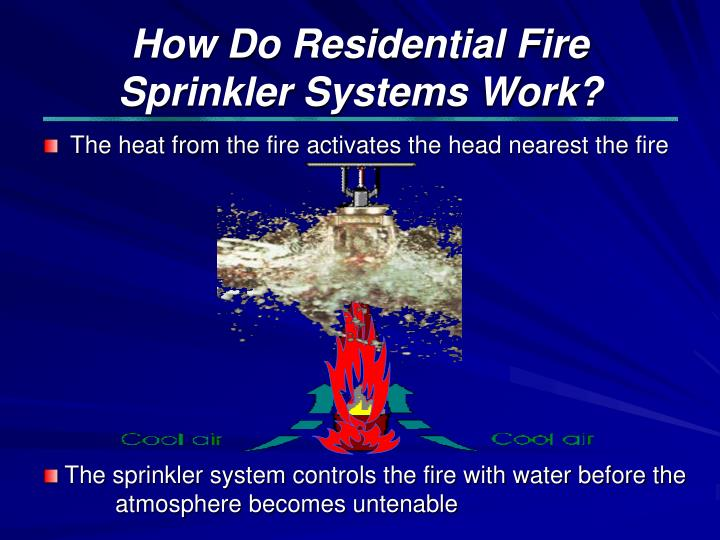 How Do Residential Fire Sprinkler Systems Work?