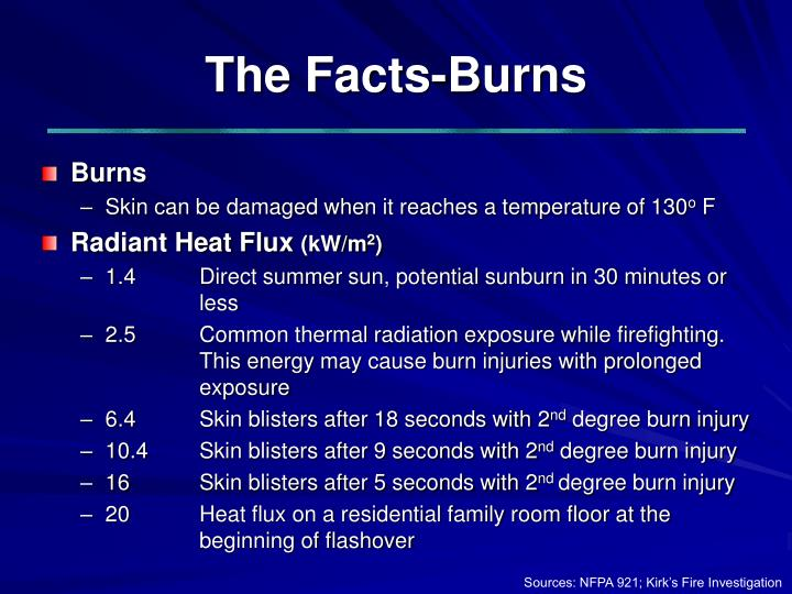 The Facts-Burns