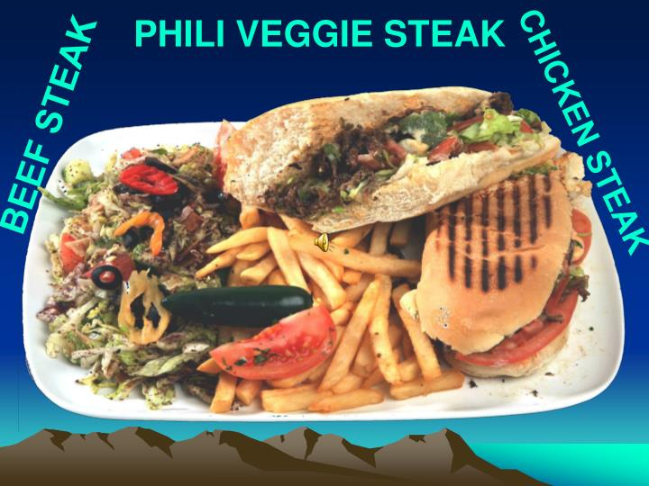 PHILI VEGGIE STEAK