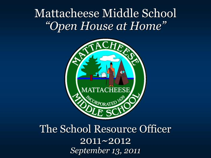 Mattacheese Middle School