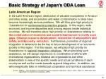 basic strategy of japan s oda loan