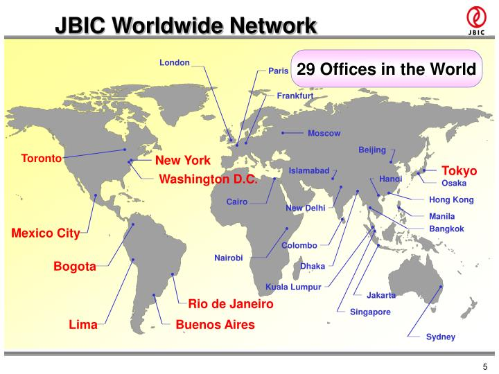 JBIC Worldwide Network