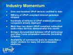 industry momentum