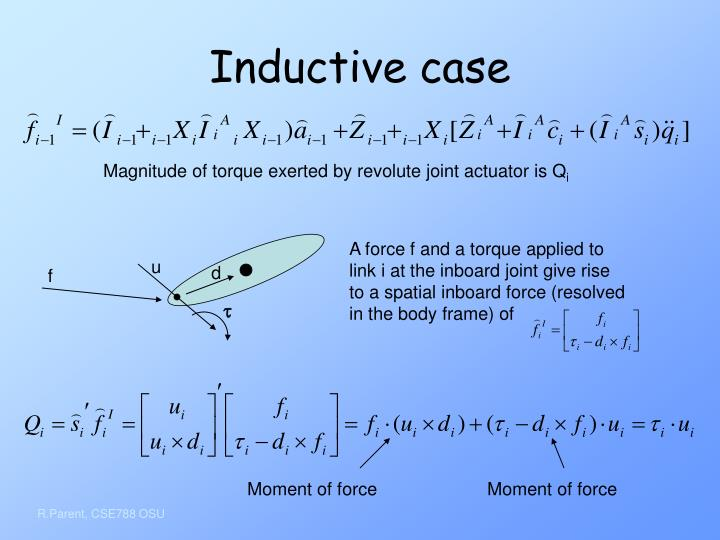 Inductive case