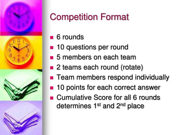 Competition Format