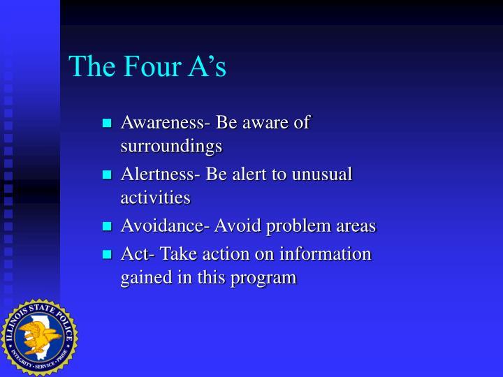 The Four A's
