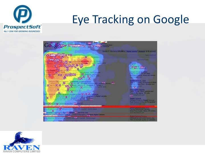 Eye Tracking on Google