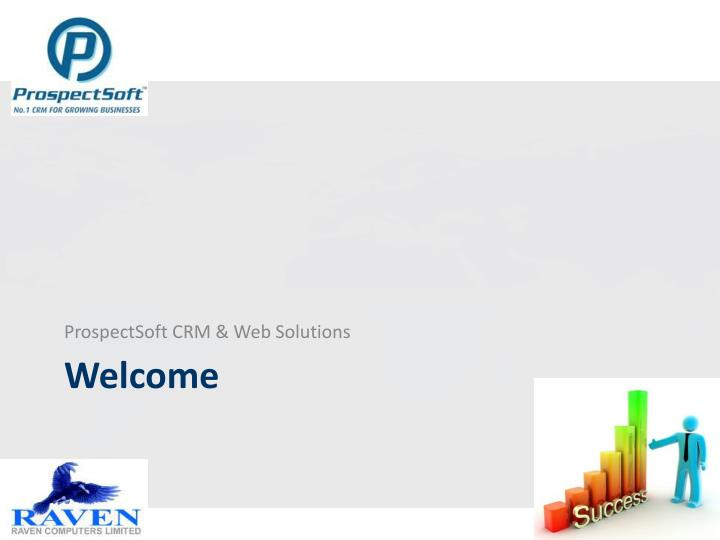 ProspectSoft CRM & Web Solutions