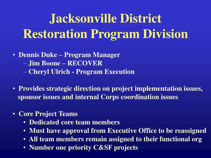 Jacksonville District