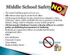 middle school safety