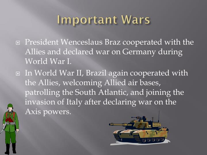 Important Wars