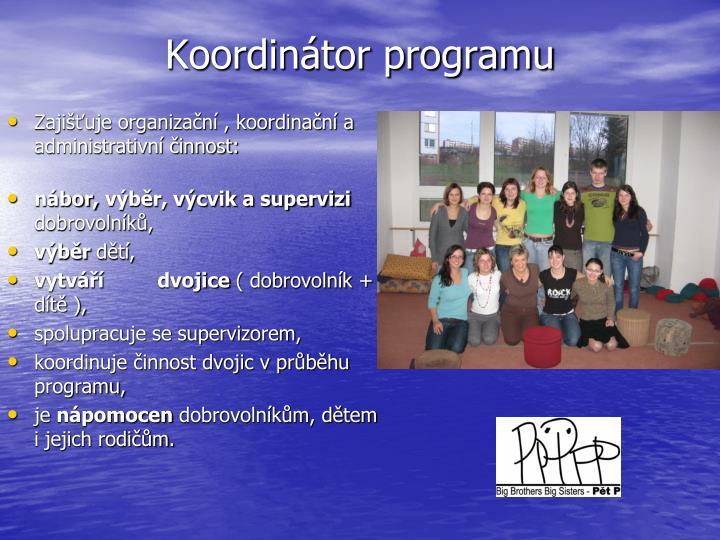 Koordinátor programu