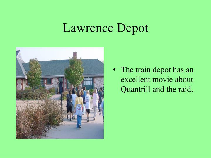 Lawrence Depot