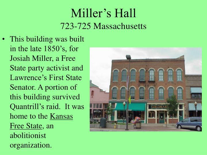Miller's Hall