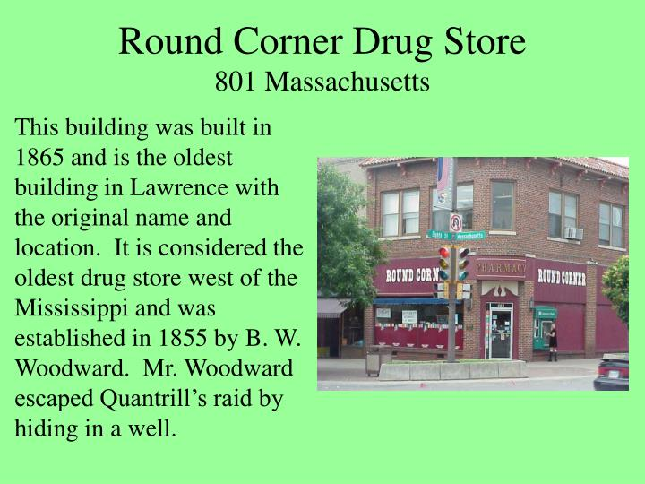 Round Corner Drug Store